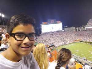 Alfredo attended Auburn Tigers vs. Tulane Green Wave- NCAA Football on Sep 7th 2019 via VetTix