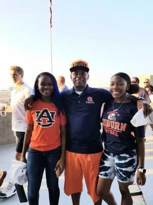 Bobby attended Auburn Tigers vs. Tulane Green Wave- NCAA Football on Sep 7th 2019 via VetTix