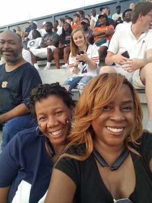 Angela attended Auburn Tigers vs. Tulane Green Wave- NCAA Football on Sep 7th 2019 via VetTix