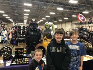 Vicki attended Gem State Comic Con on Apr 10th 2021 via VetTix