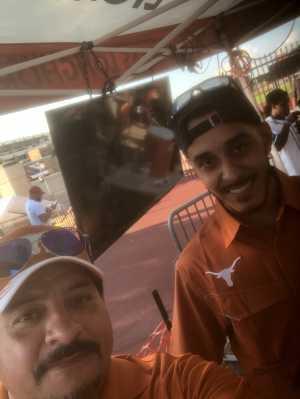Joe attended University of Texas Longhorns vs. Louisiana Tech - NCAA Football on Aug 31st 2019 via VetTix