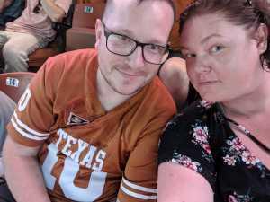 Emery attended University of Texas Longhorns vs. Louisiana Tech - NCAA Football on Aug 31st 2019 via VetTix