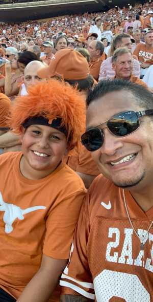 Michael attended University of Texas Longhorns vs. Louisiana Tech - NCAA Football on Aug 31st 2019 via VetTix
