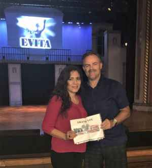 Clint attended Evita - Matinee Performance on Sep 28th 2019 via VetTix