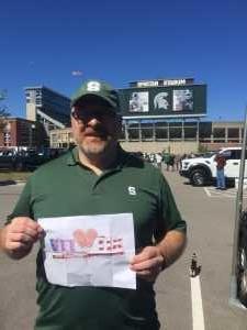 Chris attended Michigan State Spartans vs. Arizona State - NCAA Football on Sep 14th 2019 via VetTix