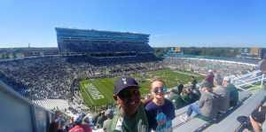 Keenon attended Michigan State Spartans vs. Arizona State - NCAA Football on Sep 14th 2019 via VetTix