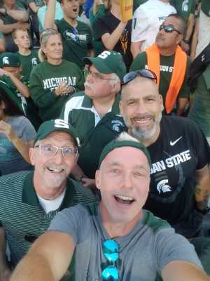 Craig attended Michigan State Spartans vs. Arizona State - NCAA Football on Sep 14th 2019 via VetTix