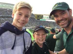 Tim attended Michigan State Spartans vs. Arizona State - NCAA Football on Sep 14th 2019 via VetTix