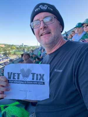 Jon attended Michigan State Spartans vs. Arizona State - NCAA Football on Sep 14th 2019 via VetTix