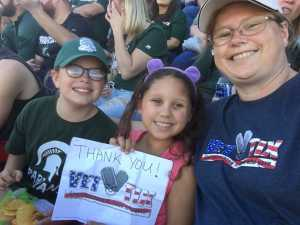 Lee attended Michigan State Spartans vs. Arizona State - NCAA Football on Sep 14th 2019 via VetTix