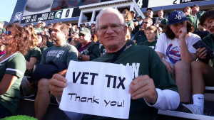 Bruce attended Michigan State Spartans vs. Arizona State - NCAA Football on Sep 14th 2019 via VetTix