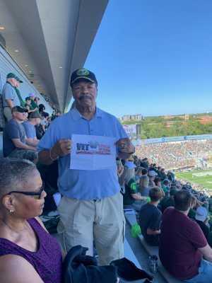 SAMUEL attended Michigan State Spartans vs. Arizona State - NCAA Football on Sep 14th 2019 via VetTix