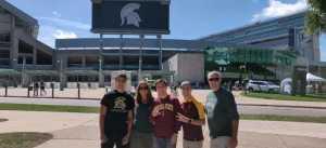 Richard attended Michigan State Spartans vs. Arizona State - NCAA Football on Sep 14th 2019 via VetTix