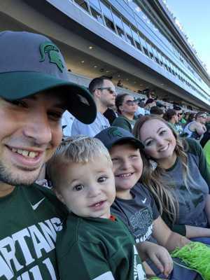 Adam attended Michigan State Spartans vs. Arizona State - NCAA Football on Sep 14th 2019 via VetTix