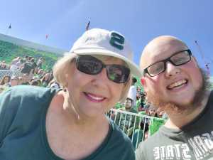 Stephen attended Michigan State Spartans vs. Arizona State - NCAA Football on Sep 14th 2019 via VetTix
