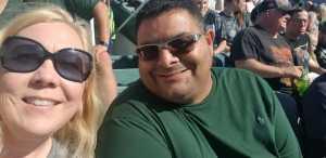 Matt attended Michigan State Spartans vs. Arizona State - NCAA Football on Sep 14th 2019 via VetTix