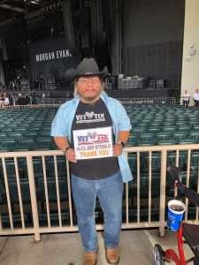 Seung attended Rascal Flatts: Summer Playlist Tour 2019 - Country on Aug 30th 2019 via VetTix