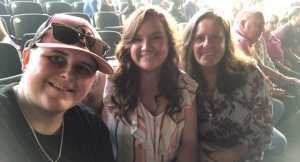 Wendy attended Rascal Flatts: Summer Playlist Tour 2019 - Country on Aug 30th 2019 via VetTix