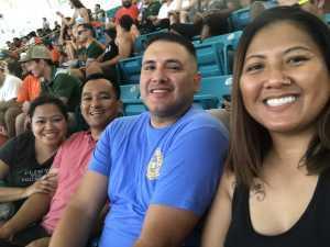 Miguel attended University of Miami Hurricanes vs. Bethune-cookman - NCAA Football on Sep 14th 2019 via VetTix