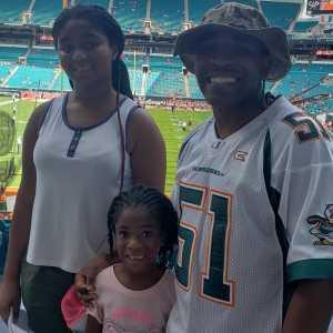 Gregory attended University of Miami Hurricanes vs. Bethune-cookman - NCAA Football on Sep 14th 2019 via VetTix