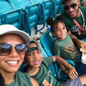 vincent attended University of Miami Hurricanes vs. Bethune-cookman - NCAA Football on Sep 14th 2019 via VetTix