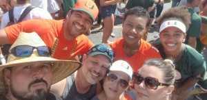 wilson attended University of Miami Hurricanes vs. Bethune-cookman - NCAA Football on Sep 14th 2019 via VetTix