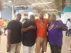 Jeron attended University of Miami Hurricanes vs. Bethune-cookman - NCAA Football on Sep 14th 2019 via VetTix