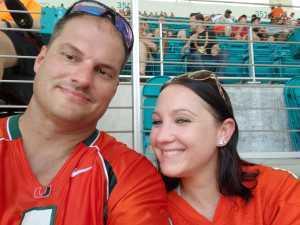 Timothy attended University of Miami Hurricanes vs. Bethune-cookman - NCAA Football on Sep 14th 2019 via VetTix