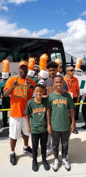 Steven attended University of Miami Hurricanes vs. Bethune-cookman - NCAA Football on Sep 14th 2019 via VetTix