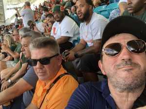 Jose attended University of Miami Hurricanes vs. Bethune-cookman - NCAA Football on Sep 14th 2019 via VetTix
