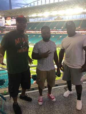 Nickia attended University of Miami Hurricanes vs. Bethune-cookman - NCAA Football on Sep 14th 2019 via VetTix