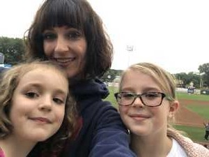 Maria attended Kane County Cougars vs. Burlington Bees - MiLB on Sep 1st 2019 via VetTix