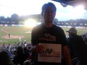 Dean attended Kane County Cougars vs. Burlington Bees - MiLB on Sep 1st 2019 via VetTix