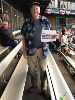 Paul attended Kane County Cougars vs. Burlington Bees - MiLB on Sep 1st 2019 via VetTix