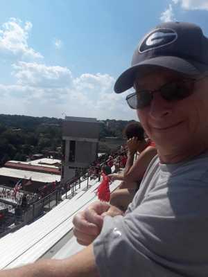 Clifford attended University of Georgia Bulldogs vs. Murray State Racers - NCAA Football on Sep 7th 2019 via VetTix