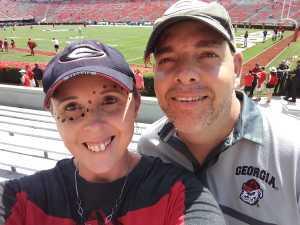Timothy attended University of Georgia Bulldogs vs. Murray State Racers - NCAA Football on Sep 7th 2019 via VetTix