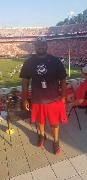 Antwaun attended University of Georgia Bulldogs vs. Murray State Racers - NCAA Football on Sep 7th 2019 via VetTix