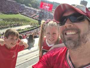 Jason attended University of Georgia Bulldogs vs. Murray State Racers - NCAA Football on Sep 7th 2019 via VetTix