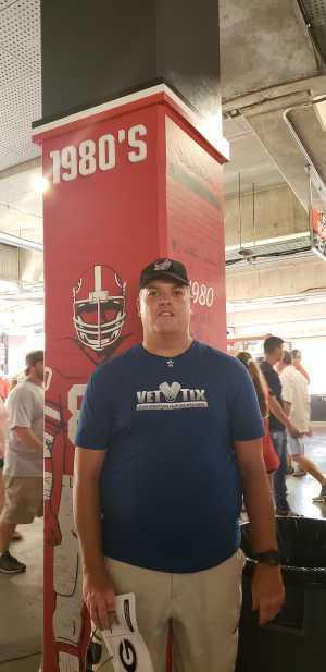 Jeremy attended University of Georgia Bulldogs vs. Murray State Racers - NCAA Football on Sep 7th 2019 via VetTix