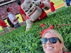 Raymond attended University of Georgia Bulldogs vs. Murray State Racers - NCAA Football on Sep 7th 2019 via VetTix