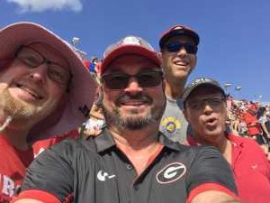 Robert attended University of Georgia Bulldogs vs. Murray State Racers - NCAA Football on Sep 7th 2019 via VetTix