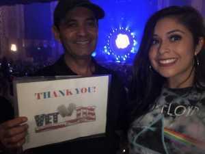 Ricardo attended The Australian Pink Floyd Show - All That You Love World Tour 2019 on Sep 10th 2019 via VetTix