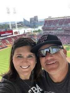 Chad attended Cincinnati Reds vs. New York Mets - MLB on Sep 21st 2019 via VetTix