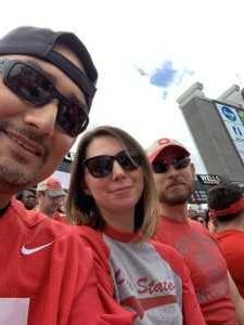 Francisco attended Ohio State Buckeyes Football vs. Cincinnati Bearcats - NCAA Football on Sep 7th 2019 via VetTix