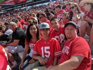 Kyle attended Ohio State Buckeyes Football vs. Cincinnati Bearcats - NCAA Football on Sep 7th 2019 via VetTix