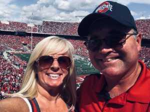 Todd attended Ohio State Buckeyes Football vs. Cincinnati Bearcats - NCAA Football on Sep 7th 2019 via VetTix