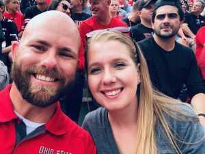 Shaun attended Ohio State Buckeyes Football vs. Cincinnati Bearcats - NCAA Football on Sep 7th 2019 via VetTix