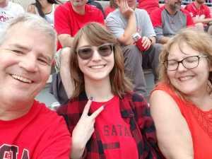 Edward attended Ohio State Buckeyes Football vs. Cincinnati Bearcats - NCAA Football on Sep 7th 2019 via VetTix
