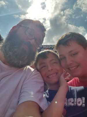 Paul attended Ohio State Buckeyes Football vs. Cincinnati Bearcats - NCAA Football on Sep 7th 2019 via VetTix
