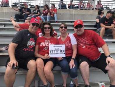 JOE attended Ohio State Buckeyes Football vs. Cincinnati Bearcats - NCAA Football on Sep 7th 2019 via VetTix